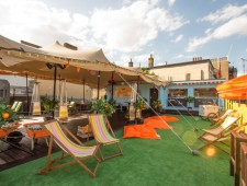 Make Summer Sparkling: Introducing The Spritz Shack At The Gun, Docklands